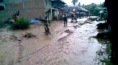 Ilustrasi banjir bandang (Dok: Sindo TV/Wahyu Sikumbang)