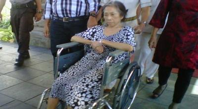nenek Loeana Kanginnadhi (foto: Rohmat/okezone)