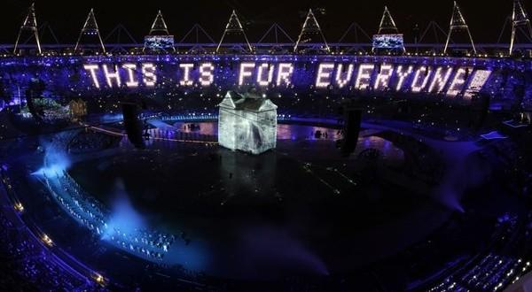 Olimpiade Musim Panas London 2012 resmi dibuka (Foto: Daylife)