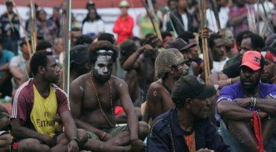 Ilustrasi warga papua