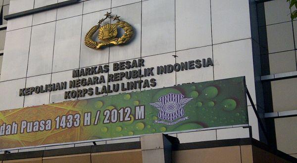 Kantor Korlantas Polri (foto: Catur)