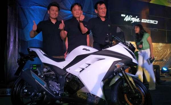 Kawasaki New Ninja 250 (Septian P/Okezone)
