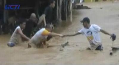 Banjir di Ambon (Dok: RCTI)