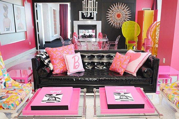 desain rumah barbie terkini