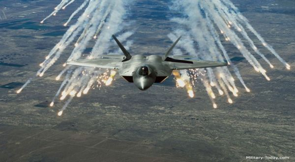 Foto : Jet F22 Raptor milik AS (military-today)
