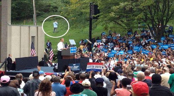 Foto : Foto Secret Service kencing diam-diam (Politico)