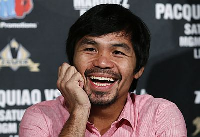 Manny Pacquiao. (Foto: Rueters)