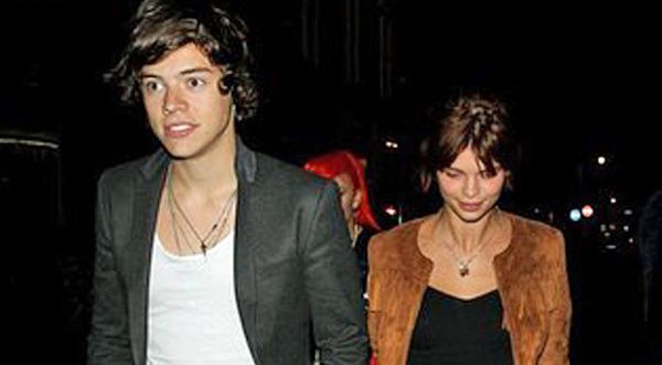 Harry One Direction & Pixie Geldof (Foto: Ist)