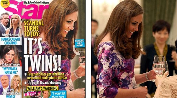 Kate Middleton (Foto: Dailymail)