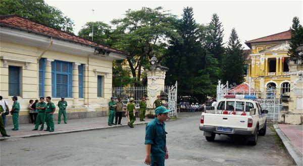 Pengadilan Vietnam (Foto: Telegraph)