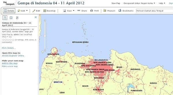 Akhir Tahun ini Indonesia bakal punya Peta Digital, loh!