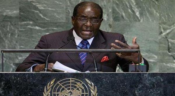 Foto : Mugabe di PBB (reuters)