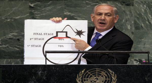 Foto : PM Israel di PBB (AP)