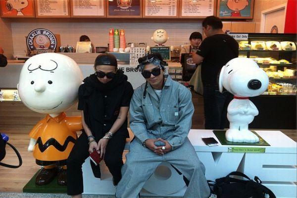 G-Dragon dan Taeyang (Foto: Twitter)