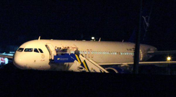 Pesawat Suriah yang dipaksa mendarat (Foto: AP)
