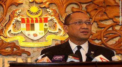 Menteri Hukum Malaysia Mohamed Nazri Aziz (Foto: Malaysian Insider)