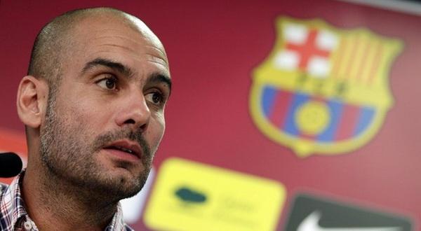 Josep 'Pep' Guardiola saat masih melatih Barca (Foto: Reuters)