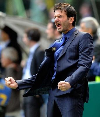 Pelatih Inter Milan Andrea Stramaccioni (Foto: Reuters)