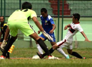 Laga ujicoba Persib vs UPI.(foto:Iman Herdiana)