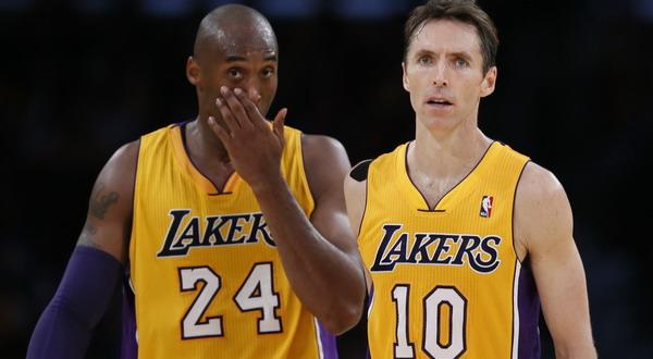 Kobe Bryant dan Steve Nash masih belum padu organisasi permainannya/Reuters