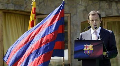 Sandro Rosell (foto: Reuters)