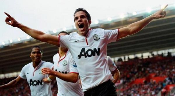 Robin Van Persie akan jadi sorotan utama dalam duel United kontra Arsenal (Foto: Reuters)