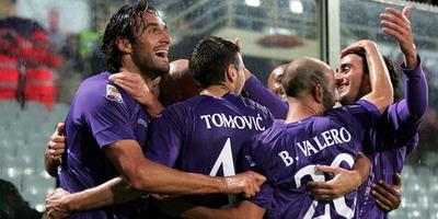 Selebrasi pemain Fiorentina (Foto: fastbet99.net)