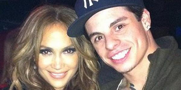 J.Lo dan Casper (Foto: twitter)