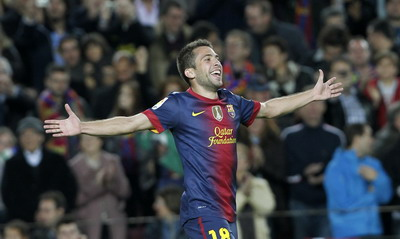 Jordy Alba.(foto:Reuters)