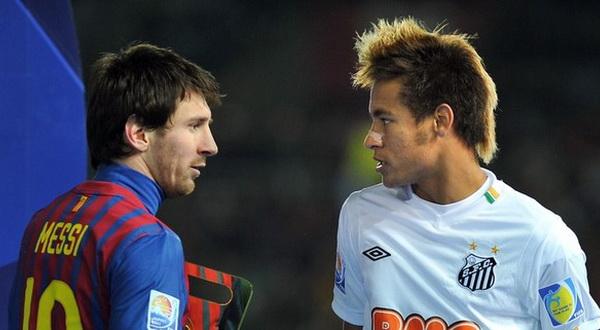 Messi-Neymar (Foto: Reuters)