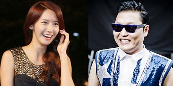 Psy & Yoona (Foto: Soompi)
