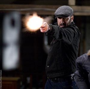 Eric Cantona dalam film De Force.(foto:IST)