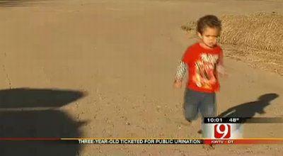 Seorang Anak DI Denda 24jt Karna Kencing Seberangan