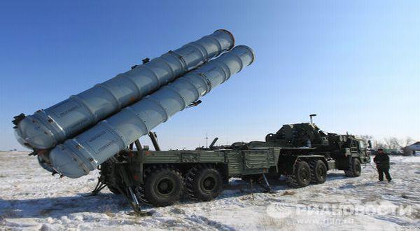 Foto : Misil S-400 milik Rusia (RIA Novosti)