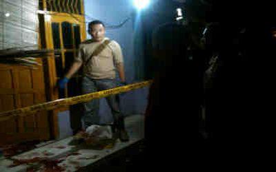 Pemilik panji pijat dirampok dan dibacok (Foto: Faiz/Okezone)