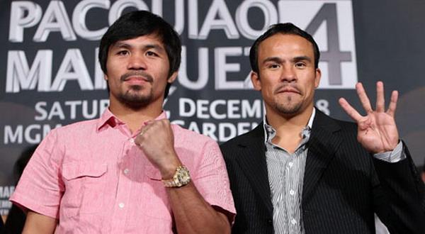 Manny Pacquiao vs Juan Manuel Marquez (Foto: Ist)