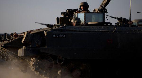 Tank Israel bersiap di perbatasan Gaza (Foto: AP)