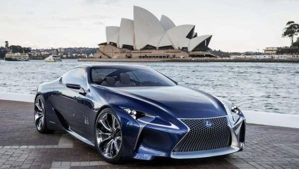 2012 Lexus LF-LC Opal Blue