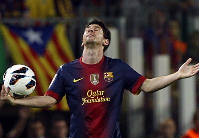 Lionel Messi salah satu mesin gol paling mematikan sepanjang sejarah sepak bola/Reuters