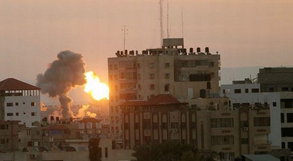 Serangan Israel ke Gaza (Foto: AP)