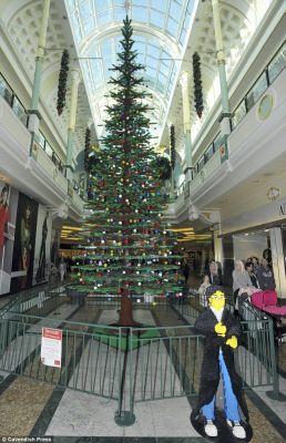 Pohon Natal  dari Lego