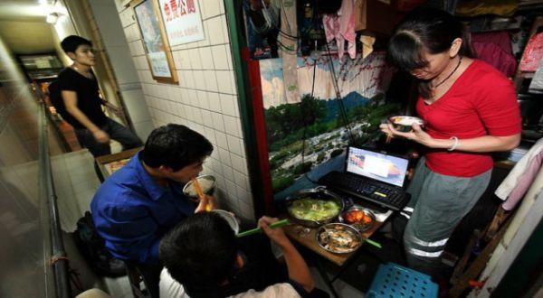 Foto : Rumah keluarga Liao (Daily Mail)
