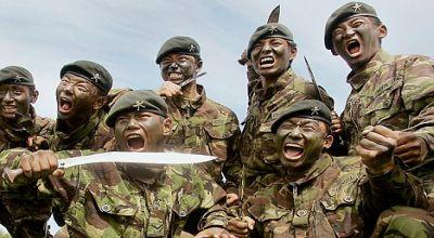 Tentara Gurkha (Foto: Daily Mail)