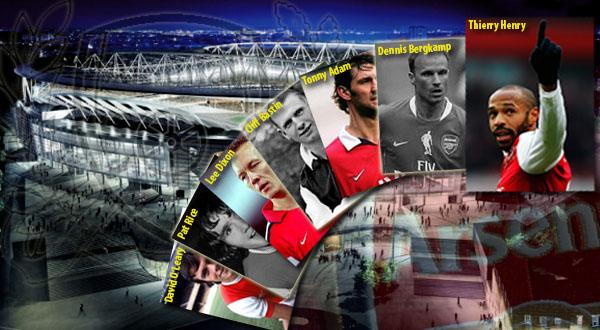 7 Legenda Arsenal