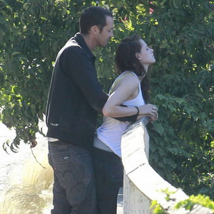 Kristen Stewart & Rupert (Foto: US weekly)