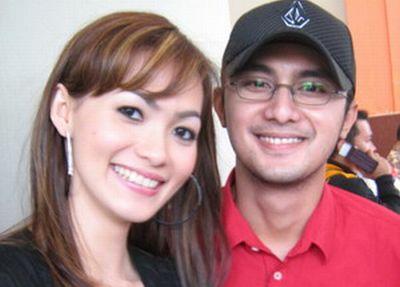 Hengky Kurniawan dan Angel V (foto: Egie Gusman/Okezone)