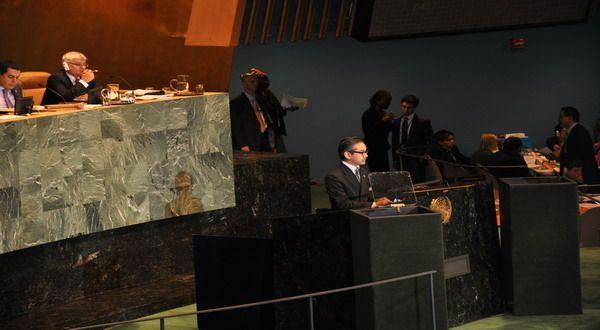 Menlu Marty di PBB (Foto: Reuters)