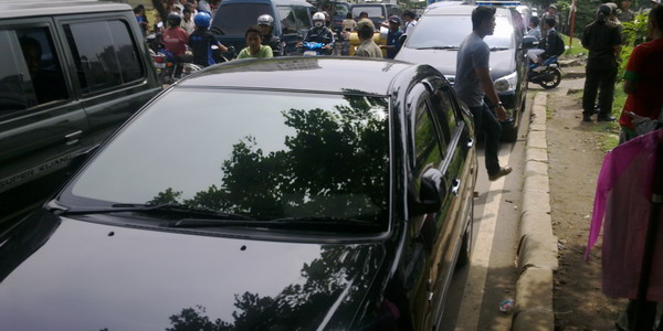 Mobil Gubernur DKI Jakarta Joko Widodo (Foto: Catur/Okezone)