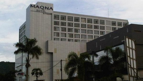 Maqna Hotel di Gorontalo, Sulawesi Utara (Foto: skycrapercity)