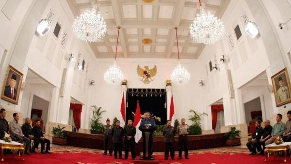 Presiden SBY (Foto: Abror Rizki/Rumgapres)